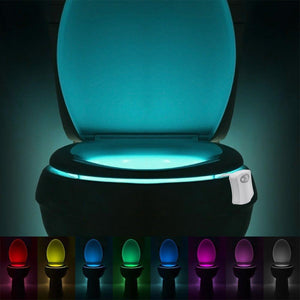 Motion Activated Toilet Light with 8 Different Colors - Bestbuy-Gadget