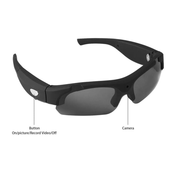 Sunglasses With Built-in Video Recording Camera (1080P)