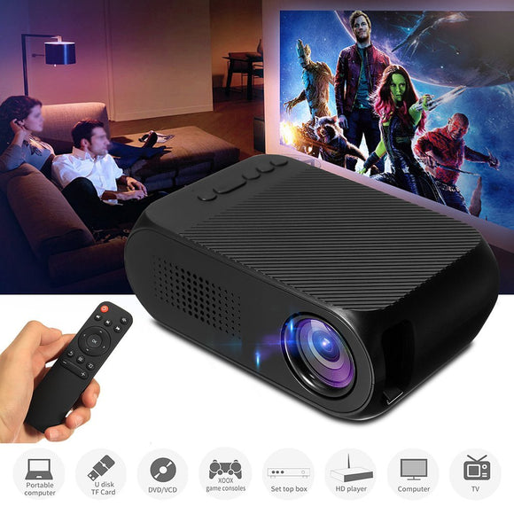Mini Portable LED Projector - Home Theater