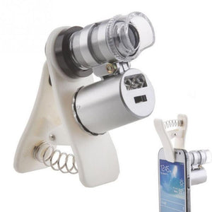 60X Optical Microscope Lens for Smartphone - Bestbuy-Gadget