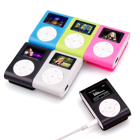Mini Clip-on MP3 Player (in lots of Funky Colors) - Bestbuy-Gadget