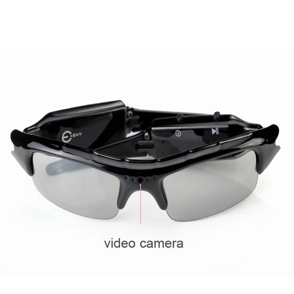 Sunglasses With Built-in Video Recording Camera (720P) - Bestbuy-Gadget