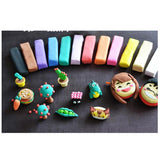 Light Super-Soft Polymer Modelling Clay (24 Colors) - Bestbuy-Gadget