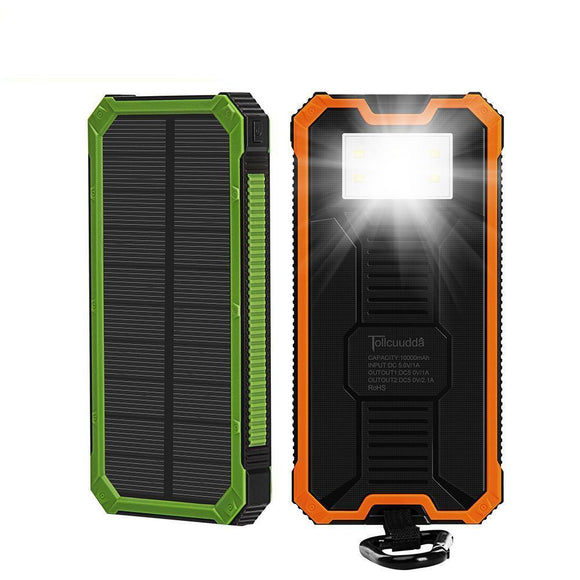 Solar Power Bank Battery Portable Charger - Bestbuy-Gadget