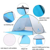 Beach Pop-up Tent (Super Quick Automatic Opening) - Bestbuy-Gadget