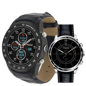 Finow Q7 Plus 3G Smart Watch Android 5.1 - Bestbuy-Gadget