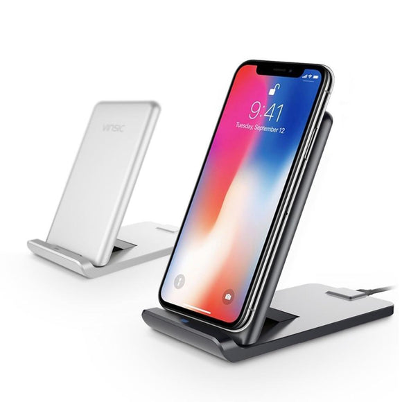 13.5W 3 Coils Wireless Fast Charging Stand - Bestbuy-Gadget