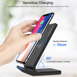 10W Qi Wireless Charger Desktop Stand - Bestbuy-Gadget