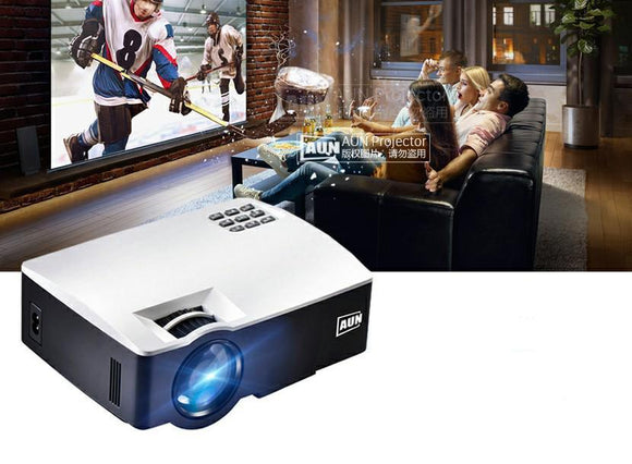 Portable LED Projector For Home Theater - Bestbuy-Gadget