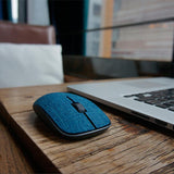 Super Slim Optical Wireless Mouse With Soft Fabric Cover - Bestbuy-Gadget
