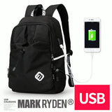 "M.R. Young Design Water Repellent 15"" Laptop Backpack - Bestbuy-Gadget"