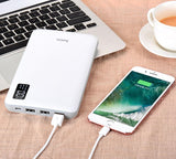 30,000mAh Portable Power Bank with 3 Output Ports, Fast Charge & LCD Display - Bestbuy-Gadget