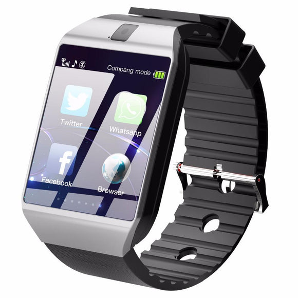 DZ09 Smart Watch (Compatible with iOS & Android Phones) - Bestbuy-Gadget