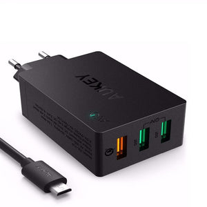 42W Fast Charger Quick Charge 3.0 (US/EU) - Bestbuy-Gadget