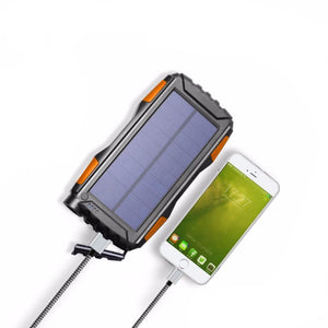 25,000mAh Waterproof Solar Power Bank - Bestbuy-Gadget