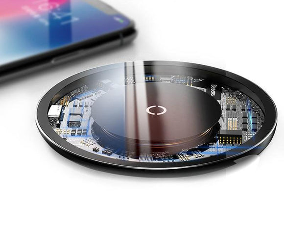 10W Qi Fast Wireless Charger - Bestbuy-Gadget