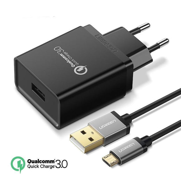 18W Fast Charger Quick Charge 3.0 (EU) - Bestbuy-Gadget