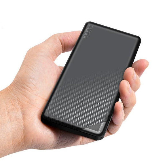 10,000mAh Baseus Mini Portable Power Bank External Battery - Bestbuy-Gadget