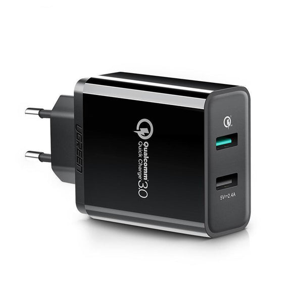 30W Fast Charger Quick Charge 3.0 (EU/US/UK/JP) - Bestbuy-Gadget