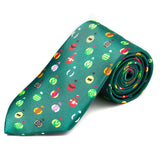 Gold Cup Winners Silk Tie
