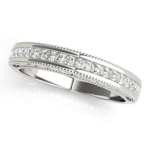 shared princess beautiful wedding cut bands prong diamond