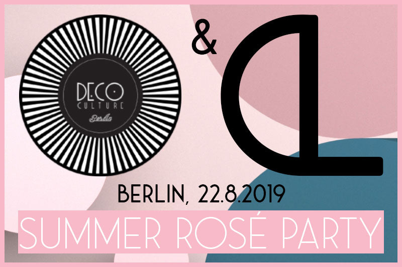 Summer Rosé Party with DECOculture Berlin