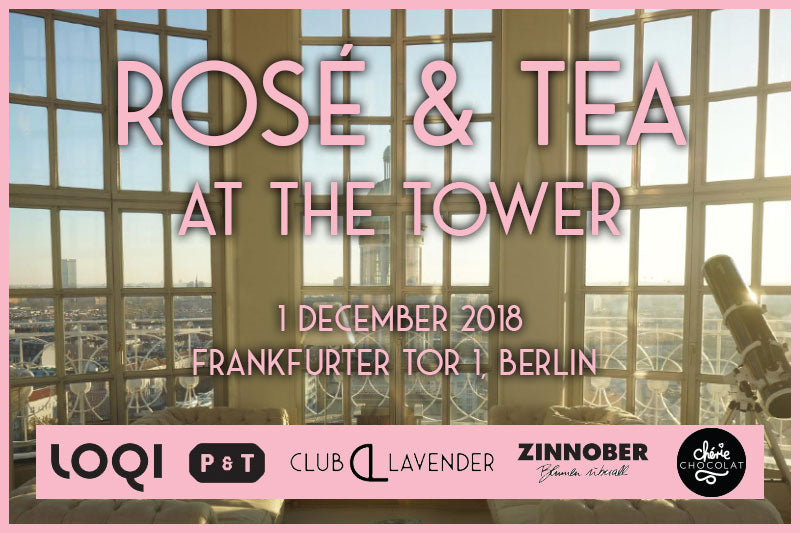 Rosé & Tea at the Tower