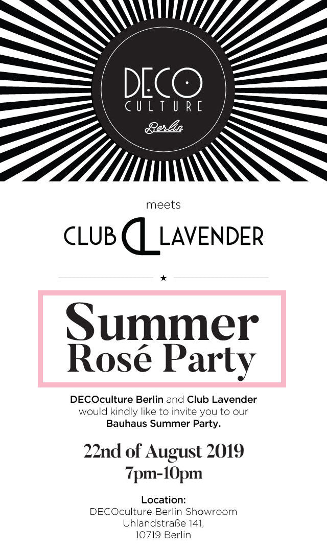 Club Lavender Summer Rosé Party