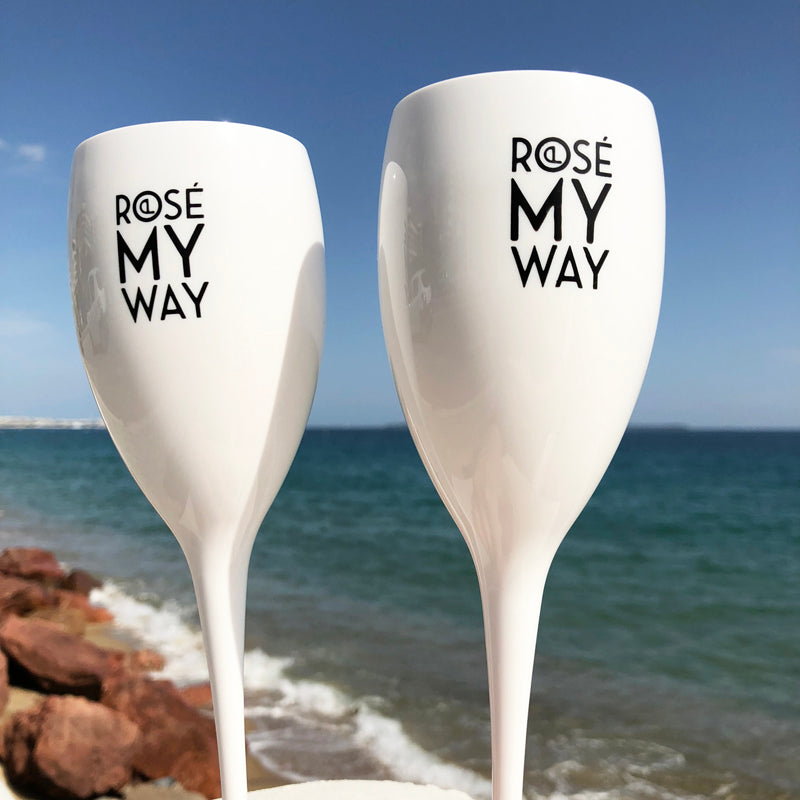 Rosé Picnic Glasses - Rosé My Way
