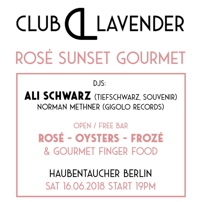 Rosé Sunset Party #1 Ticket