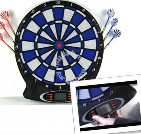 WJ100 ABS Electronic Dartboard Digital LCD Display (Darts Included)