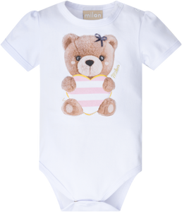 Milon Baby Girl's Bodysuit & Shorts Set 12601