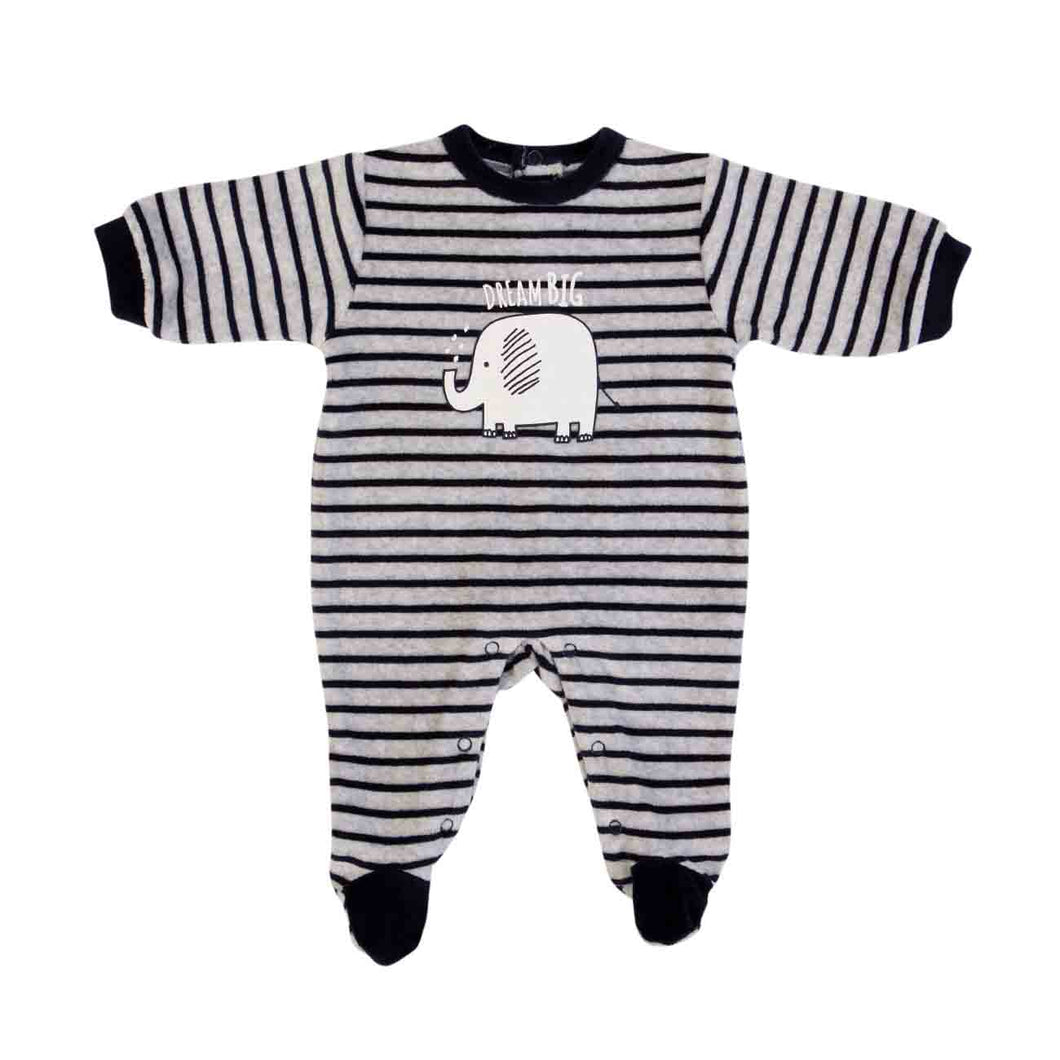 FS Baby Velour DREAM BIG Babygrow 14489