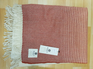 McNutt of Donegal Supersoft Lambswool Throw