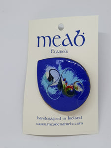 Meab Enamels Brooch 35mm diameter