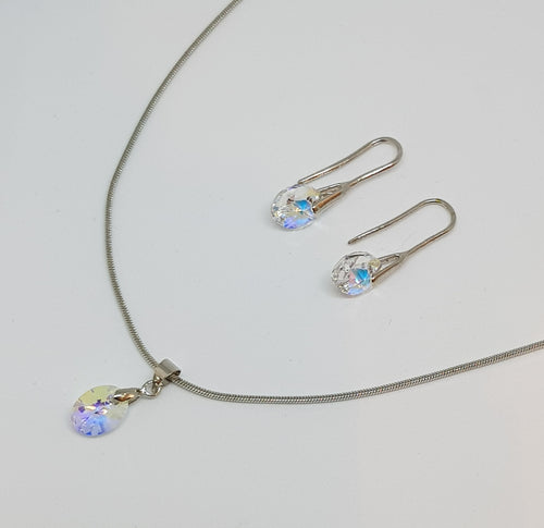 Swarovski Pendant & Earrings Set SMS1