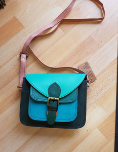 Soruka Amoucci Small Upcycled Leather Bag