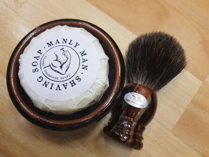 Dalkey handmade Shaving Gift Set with shaving brush