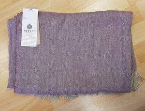 McNutt of Donegal Pure Irish Linen Throw