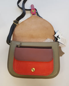 Soruka Amoucci Large Upcycled Leather Bag