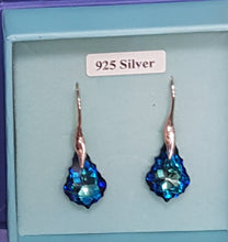Sterling Silver Swarovski Earrings
