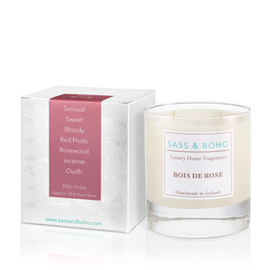 Double Wick Candle - Bois de Rose