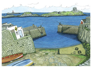 Coliemore Harbour Print