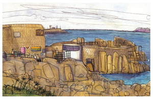 Forty Foot, Sandycove print