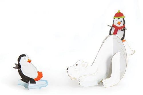 Popzle Polar Bear & Penguins