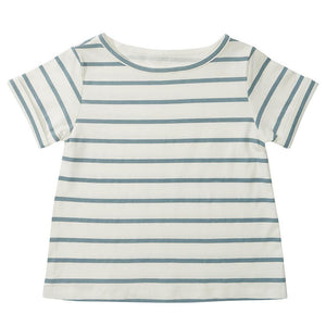 Blue Stripe Summer T-Shirt