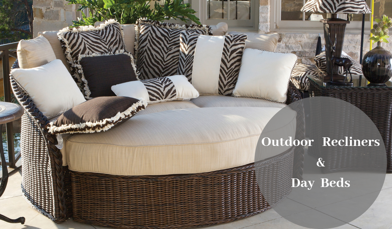 Outdoor Recliners & Day Beds