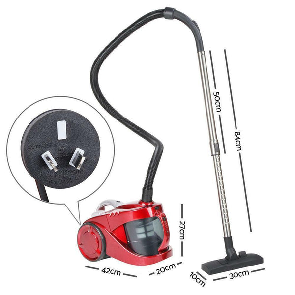 Bagless Vacuum Cleaner Red