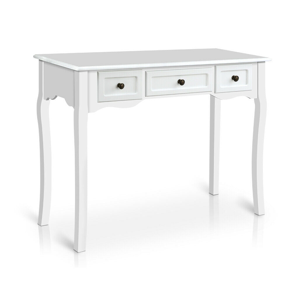 Pontre White French Provincial Entry Hall Side Table