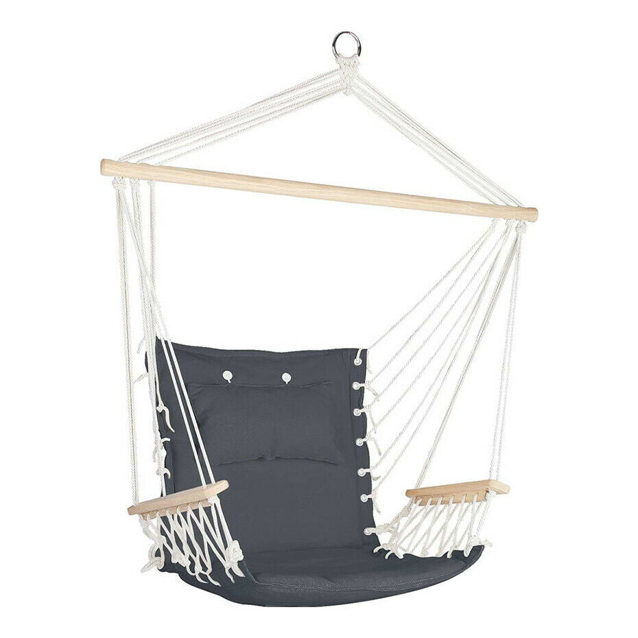 Gordon Grey Hammock Swing Chair